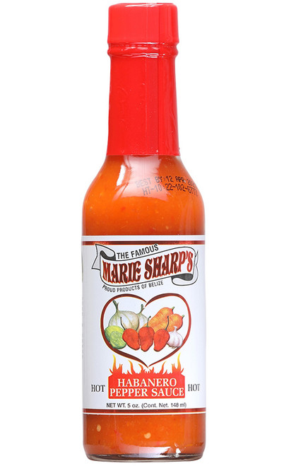Marie Sharp's Hot Habanero Pepper Sauce, 5oz.