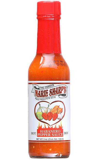 Marie Sharp's Hot Habanero Pepper Sauce, 5oz.