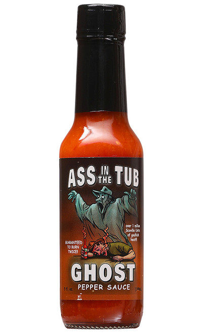Ass In The Tub Ghost Pepper Sauce, 5oz.