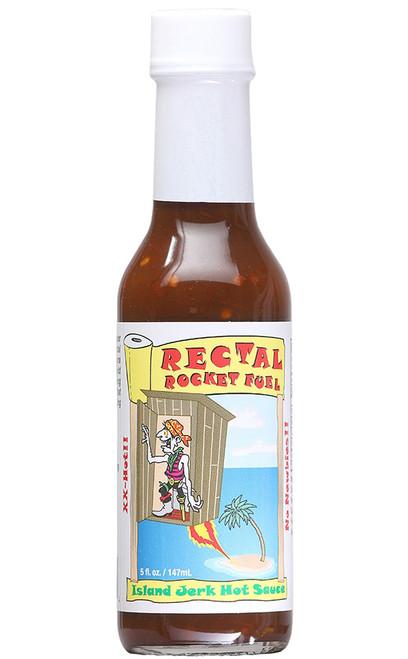 Rectal Rocket Fuel Island Jerk Hot Sauce, 5oz.