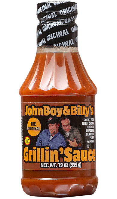 JohnBoy and Billy's Original Grillin' Sauce, 19oz.