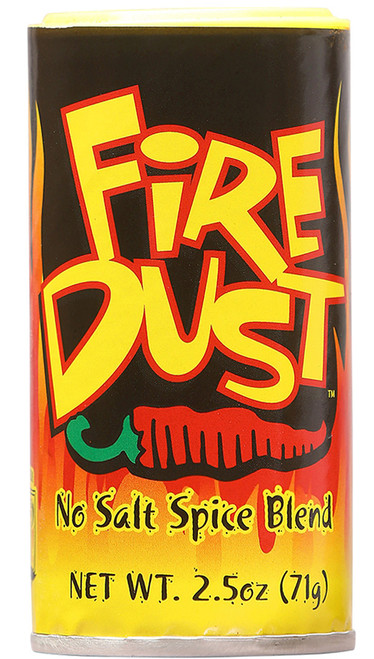CaJohn's Fire Dust No Salt Spice Blend, 2.5oz.
