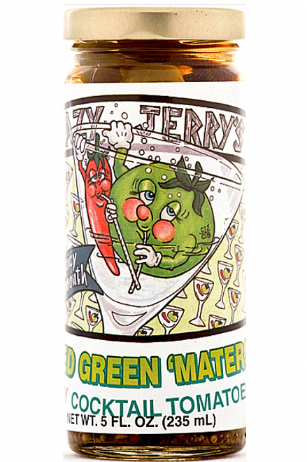 Crazy Jerry's Fried Green Maters, 5oz.