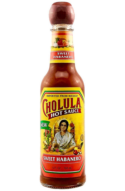 Cholula Sweet Habanero Hot Sauce, 5oz.