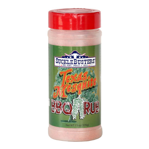 Sucklebusters Texas Mesquite BBQ Rub, 13oz.