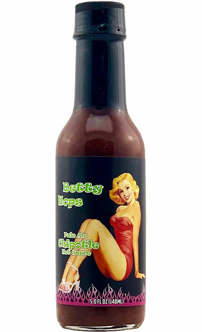 Betty Hops Pale Ale Chipotle Hot Sauce, 5oz.