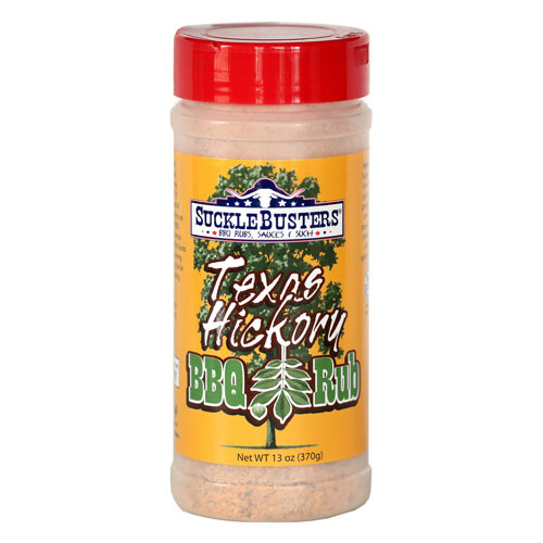 Sucklebusters Texas Hickory BBQ Rub, 13oz.