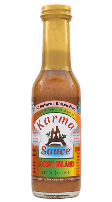 Karma Sauce Ghost Island Hot Sauce, 5oz.