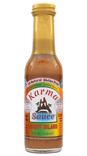 Karma Sauce Ghost Island Hot Sauce, 5oz.