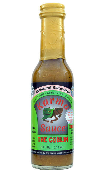 Karma Sauce The Goblin Hot Sauce, 5oz.