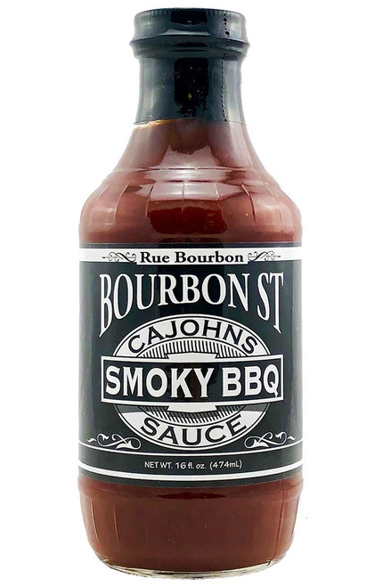 CaJohn's Bourbon Street Smoky BBQ Sauce, 16oz.