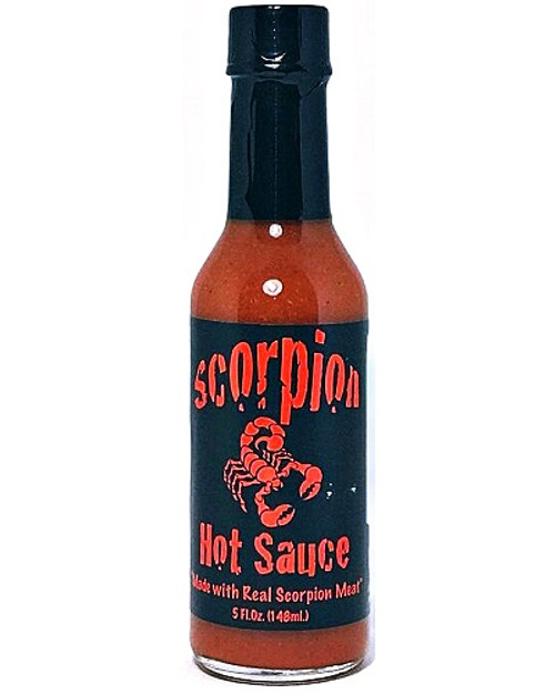 Scorpion Hot Sauce w/Real Scorpion Meat, 5oz.
