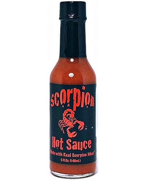 Scorpion Hot Sauce w/Real Scorpion Meat, 5oz.