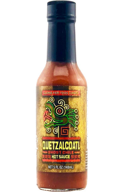 CaJohn's Quetzalcoatl Ghost Chile Hot Sauce, 5oz.