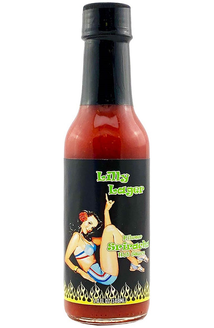 Lilly Lager Pilsner Hot Sauce, 5oz.