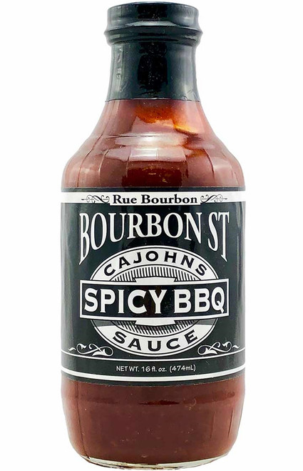 Cajohns Bourbon St Spicy BBQ Sauce
