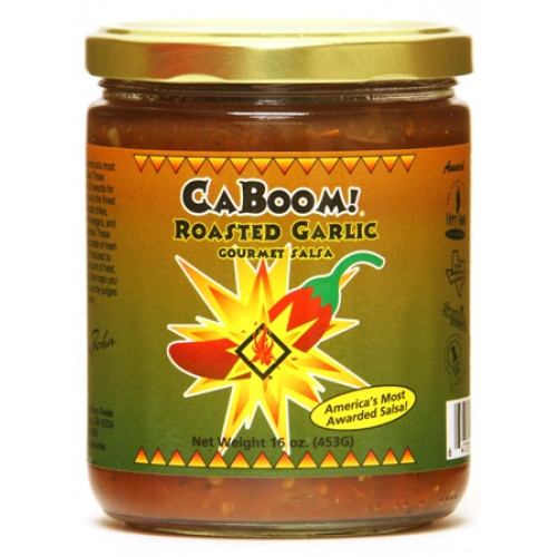 CaJohn's Roasted Garlic Gourmet Salsa, 16oz.