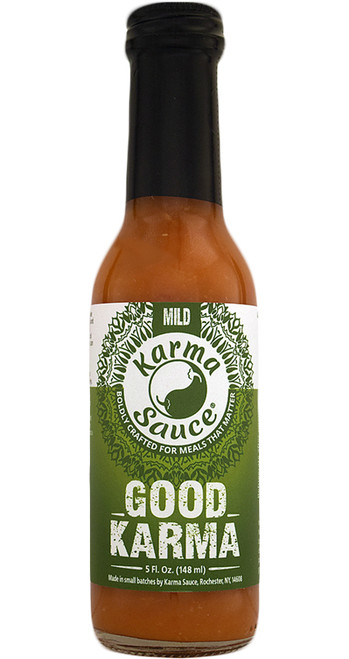 Karma Sauce Good Karma Hot Sauce, 5oz.