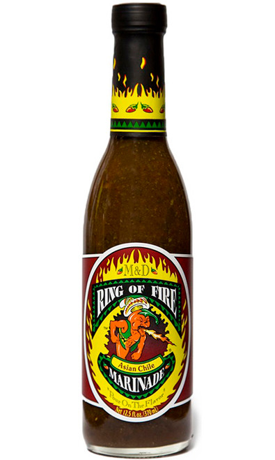 Ring of Fire Asian Chile Marinade, 12.5oz.