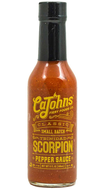 CaJohn's Classic Small Batch Trinidad Scorpion Pepper Sauce, 5oz.