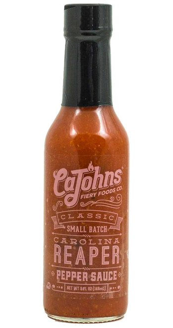 CaJohn's Classic Small Batch Carolina Reaper Pepper Sauce, 5oz.