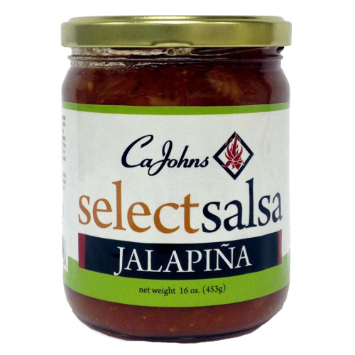 CaJohn's Select Salsa Jalapina Flavor, 16oz.