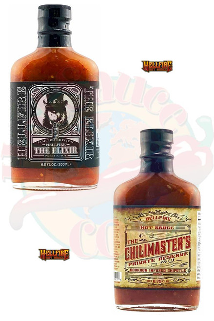 Hellfire ChiliMasters and The Elixir Gift Set, 2/6.8oz.