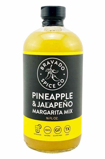 Bravado Spice Co. Pineapple and Jalapeno Margarita Mix, 16oz.
