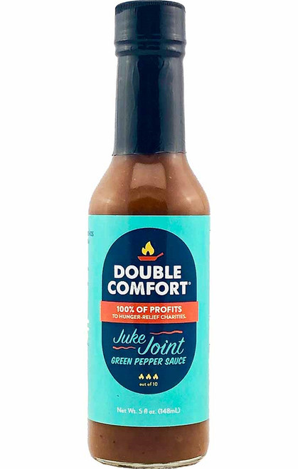 Double Comfort Juke Joint Green Pepper Sauce, 5oz.
