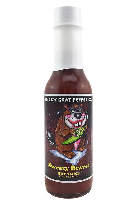Angry Goat Pepper Co. Sweaty Beaver Hot Sauce, 5oz.