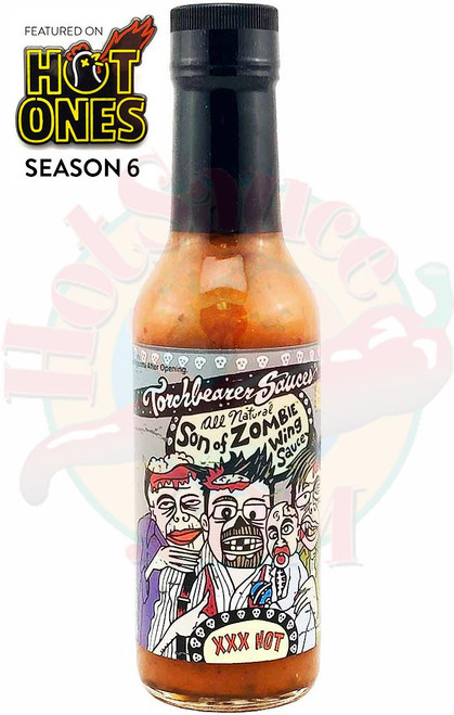 Torchbearer Son of Zombie Wing Sauce, 5oz.