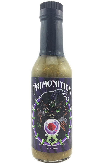 Primo's Peppers Primonition Hot Sauce, 5oz.