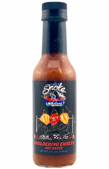 Rising Smoke Smoldering Embers Hot Sauce, 5oz.