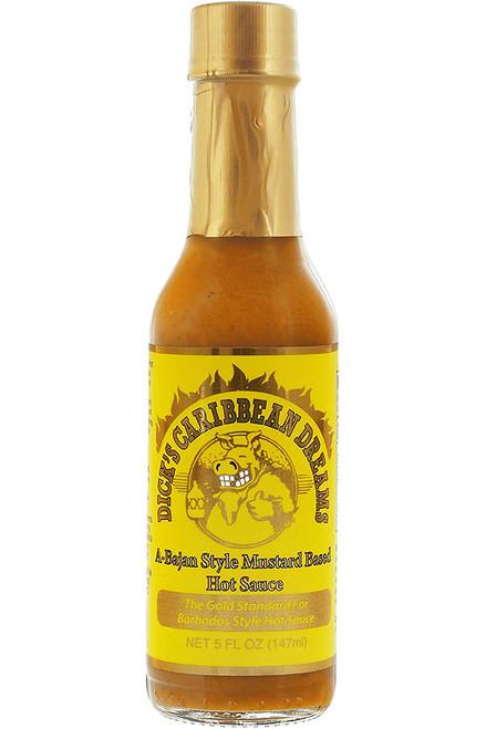 Dirty Dick's Caribbean Dreams Hot Pepper Sauce, 5oz.