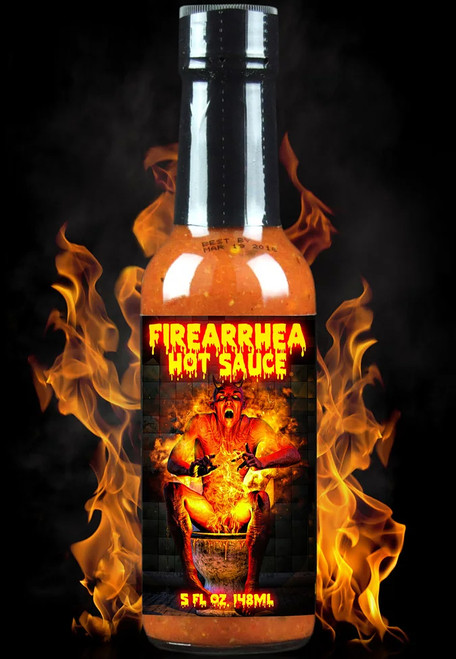 Hellfire Firearrhea Hot Sauce, 5oz.