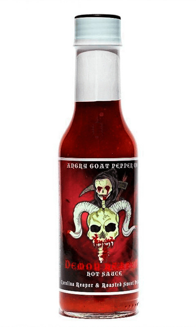 Angry Goat Pepper Co. Demon Reaper Hot Sauce, 5oz.