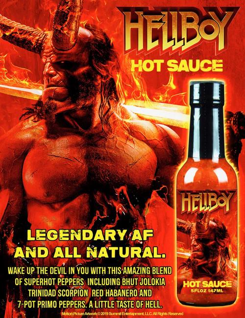 Hellfire Hellboy Legendary AF Hot Sauce, 5oz.