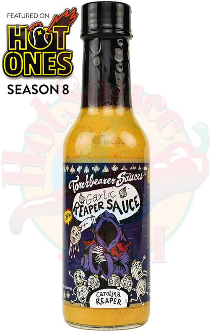 Torchbearer Garlic Carolina Reaper Hot Sauce, 5oz.