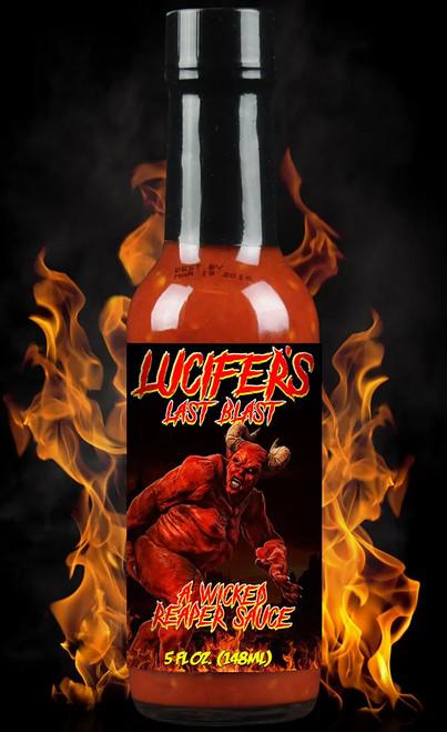 Hellfire Lucifer's Last Blast Hot Sauce, 5oz.