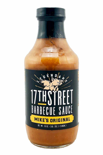 17th Street Barbecue Sauce Mike's Original, 18oz.
