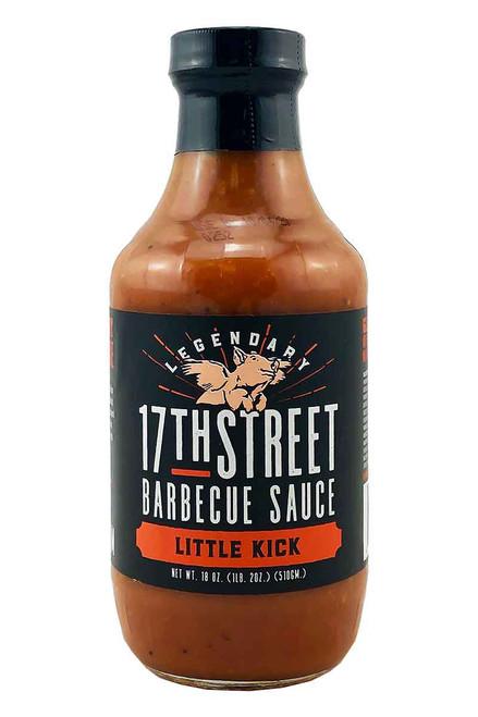 17th Street Barbecue Sauce Little Kick, 18oz.