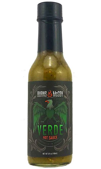 Burns & McCoy Reaper Verde Hot Sauce, 5oz.