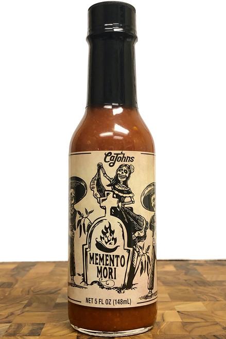 CaJohn's Memento Mori Hot Sauce, 5oz.