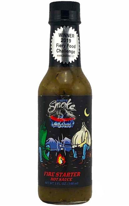 Rising Smoke Sauceworks Fire Starter Hot Sauce, 5oz.