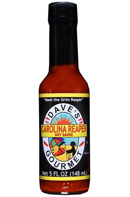 Dave's Gourmet Carolina Reaper Pepper Hot Sauce, 5oz.