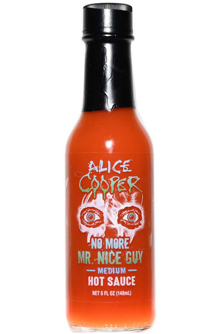 Alice Cooper No More Mr. Nice Guy Medium Hot Sauce, 5oz.