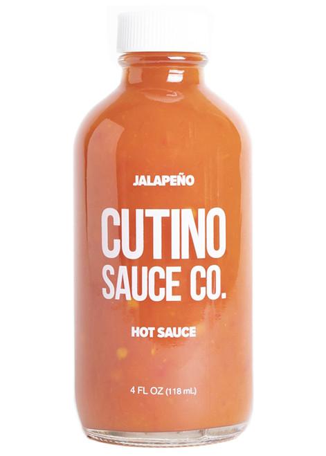 Cutino Jalapeno Hot Sauce, 4oz.