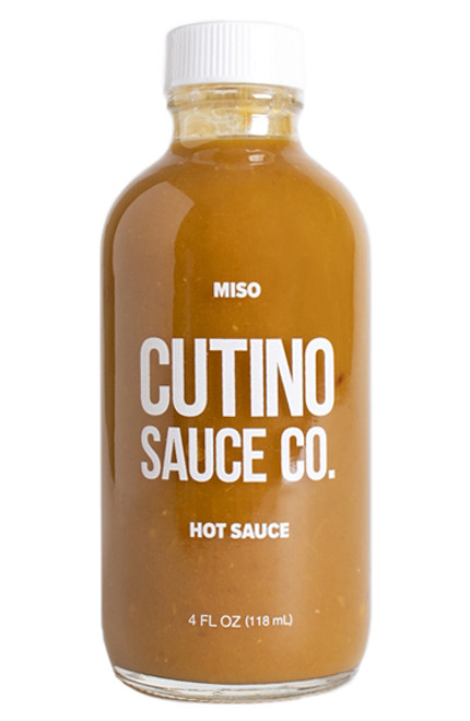 Cutino Miso Hot Sauce, 4oz.
