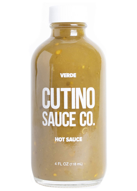 Cutino Verde Hot Sauce, 4oz.