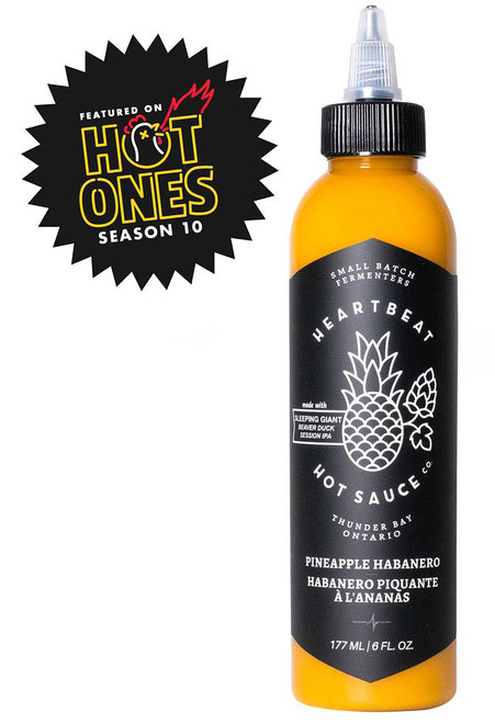 Heartbeat Pineapple Habanero Hot Sauce, 6oz.